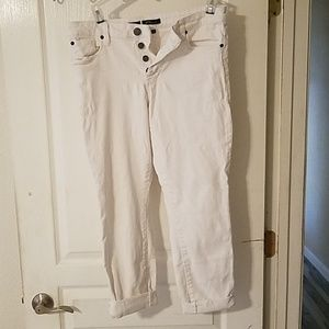 STS Blue White Emma Ankle Skinny Jean's
